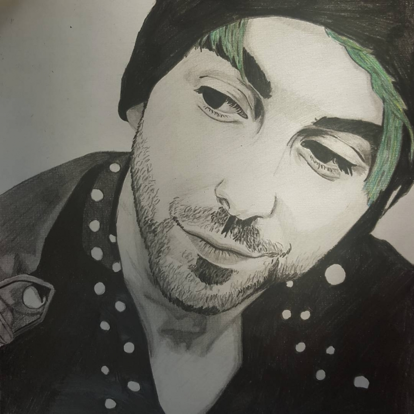 Alex Gaskarth by rfic